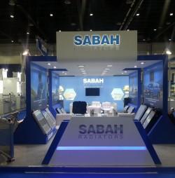 Sabah Radiator stand @ Automechanika Dubai 2015